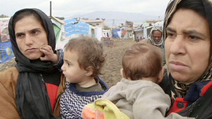 Без помощи ООН сирийским беженцам грозит голод