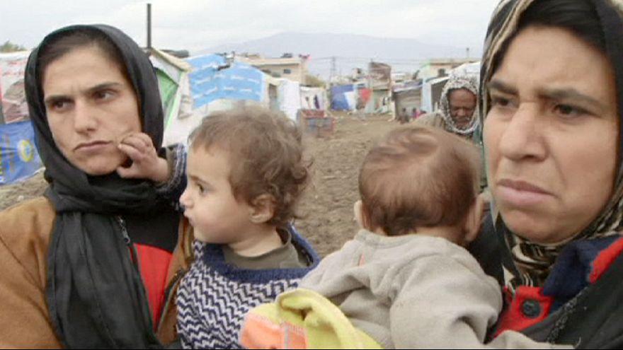 Los refugiados sirios se enfrentan a un duro invierno de hambre y frío
