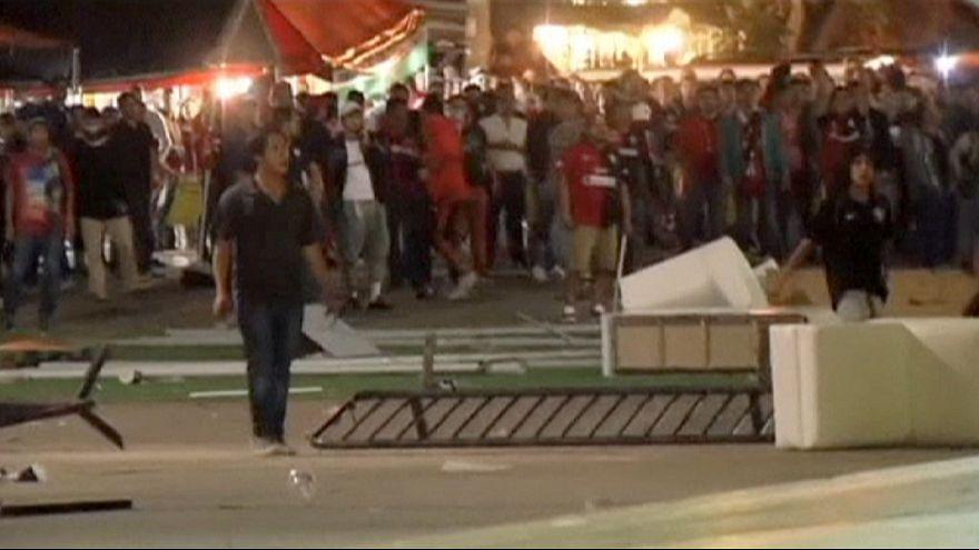 كرة القدم المكسيكية ضحية أعمال العنف