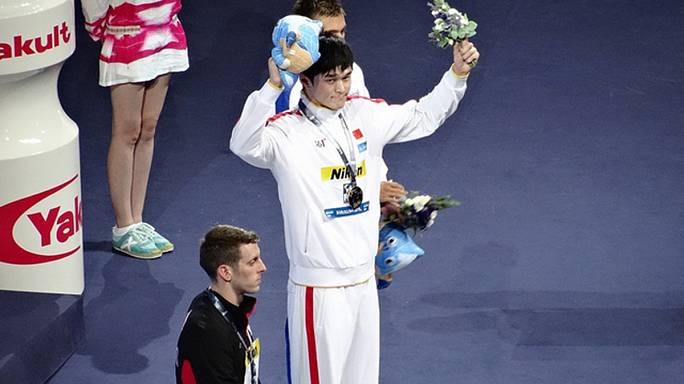 Sun Yang joins list of FINA World Championship absentees