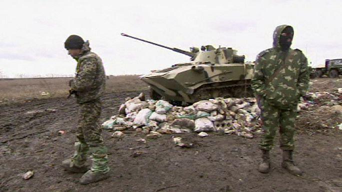 Ukrayna'nın doğusunda iki noktada ateşkes