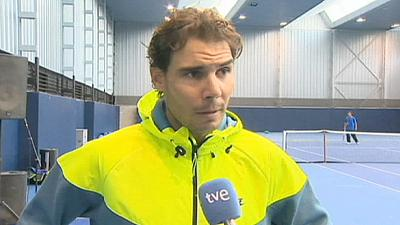 Nadal returns to training after appendix operation