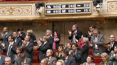 French MPs vote to recognise Palestinian state