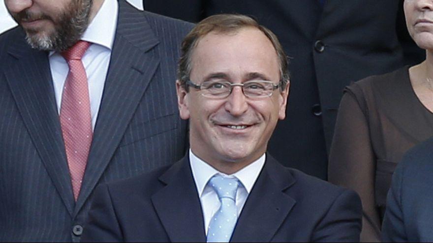 Alfonso Alonso, nuevo ministro de Sanidad de España en sustitución de Ana Mato