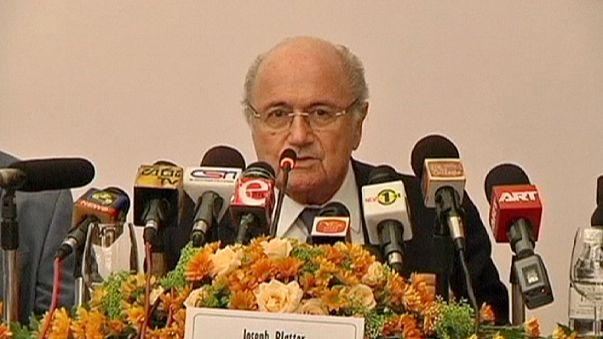 """Blatter: """"FIFA não pode ser responsabilizada pelo bem-estar dos trabalhadores no Qatar"""""""