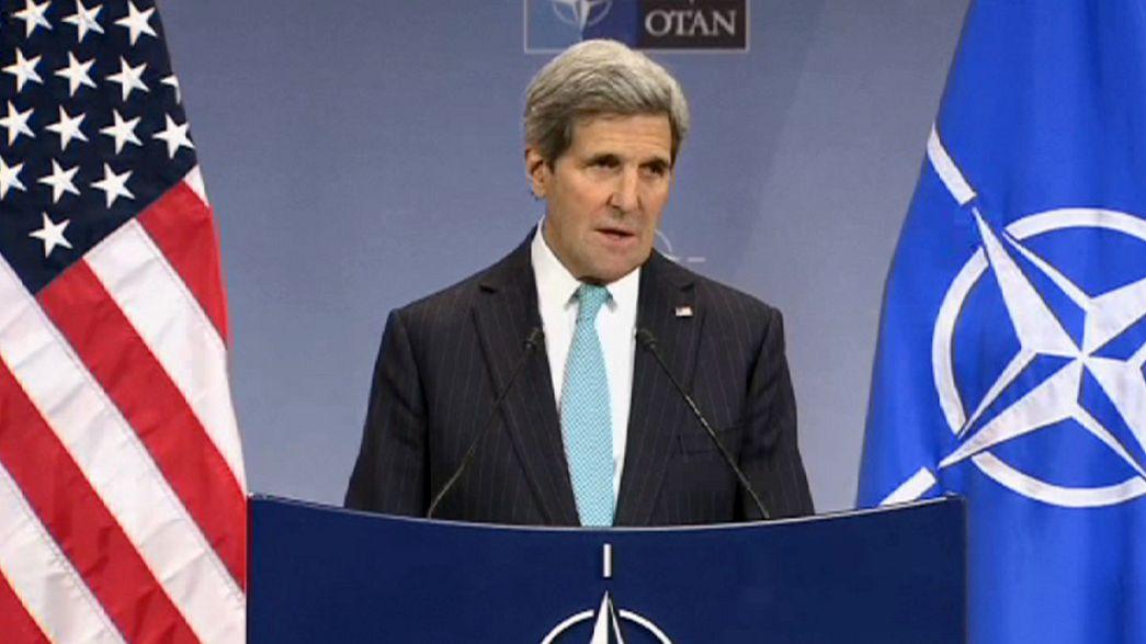 Ukraine : la Russie vivement critiquée par les ministres de l'OTAN