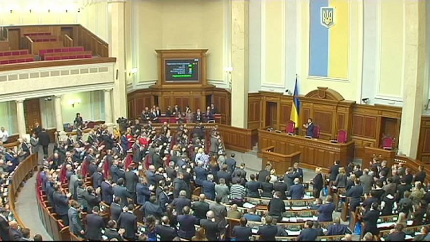 Ukraine braces itself for a difficult 2015 as parliament votes in a new government
