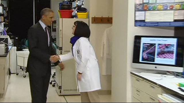 President Obama takes up the Ebola challenge and urges Congress for emergency funds