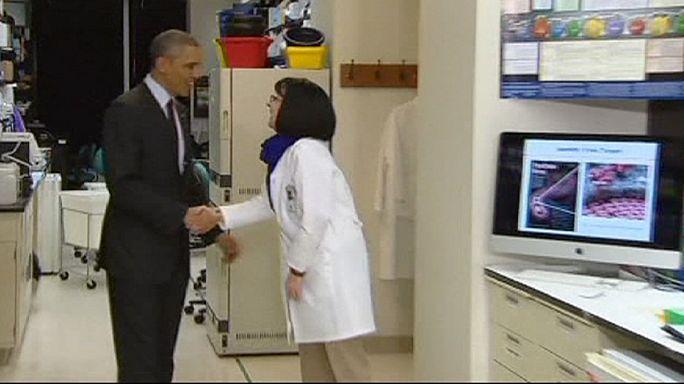 Obama Ebola'yla mücadele için Kongre'den ek bütçe istedi