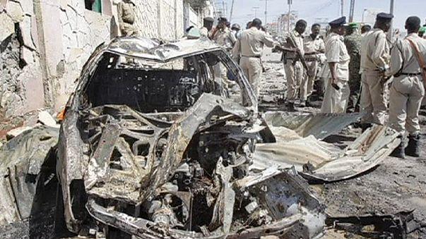 Öngyilkos robbantás Szomáliában