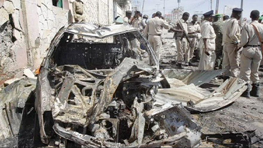 Somali'de BM konvoyuna intihar saldırısı