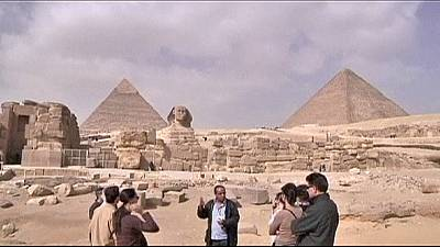 Tourists start to return to Egypt