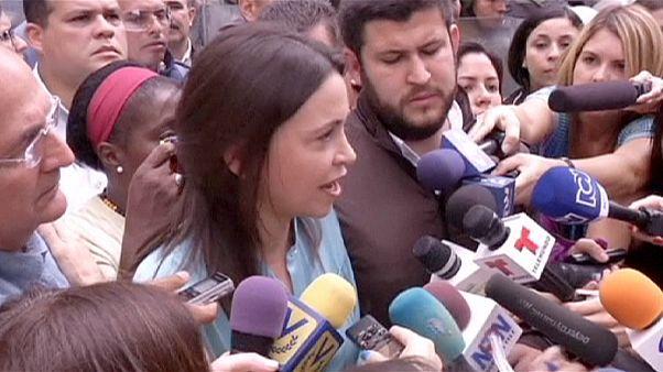 Βενεζουέλα: Για σχέδιο δολοφονίας του Μαδούρο κατηγορείται η επικεφαλής της αντιπολίτευσης