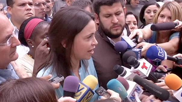 """Venezuela: leader dell'opposizione accusata di """"cospirazione"""" per uccidere il Presidente"""