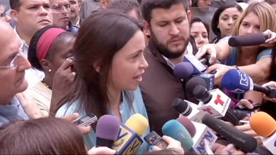 Venezuela protest leader Maria Corina Machado charged with plot to kill President Maduro