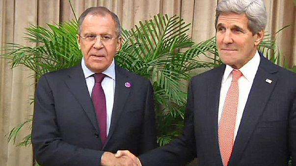 EBESZ-csúcs: Kerry-Lavrov párbeszéd Ukrajnáról