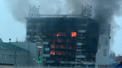 School siege underway in Grozny after deadly gunfight in Chechen capital
