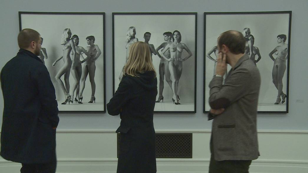 Portraits, nudes and fashion by Helmut Newton on show in Berlin