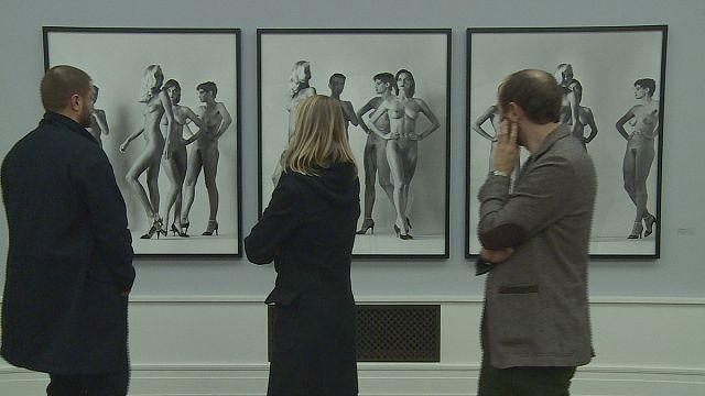 Helmut Newton fotoğrafları tüm çıplaklığıyla Berlin'de