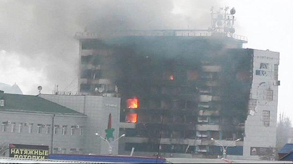 Heves harcok a csecsen fővárosban