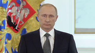"""Putin: """"O exército russo é temido"""