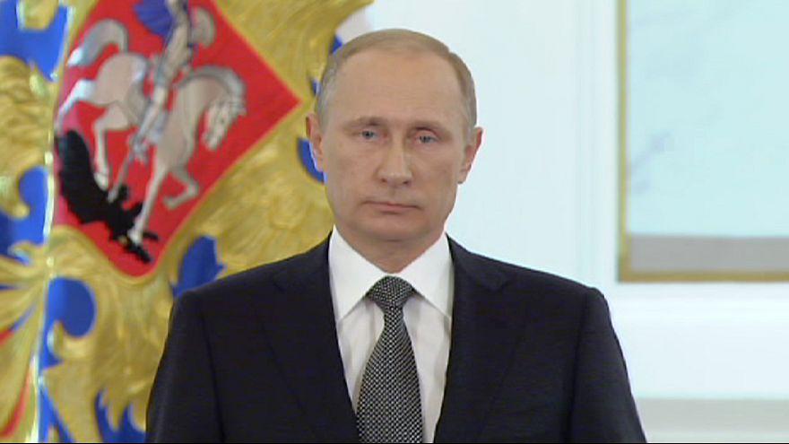 Russie : un Poutine très offensif ce matin devant les parlementaires
