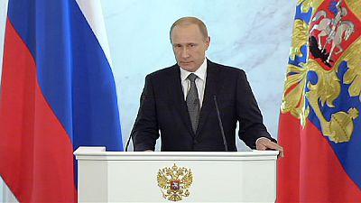 Putin defies West over Ukraine and 'sacred Crimea'