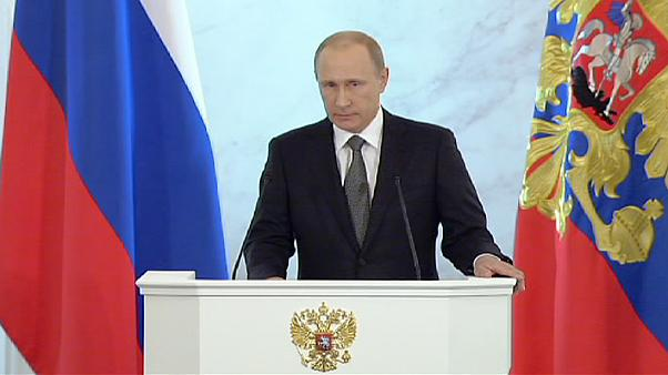 Putin defies West over Ukraine and 'sacred Crimea'