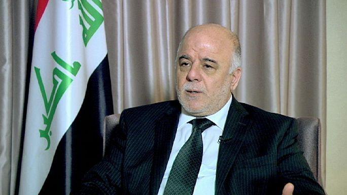 مقابلة خاصة بقناة يورونيوز الدولية مع الدكتور حيدر العبادي رئيس مجلس الوزراء العراقي