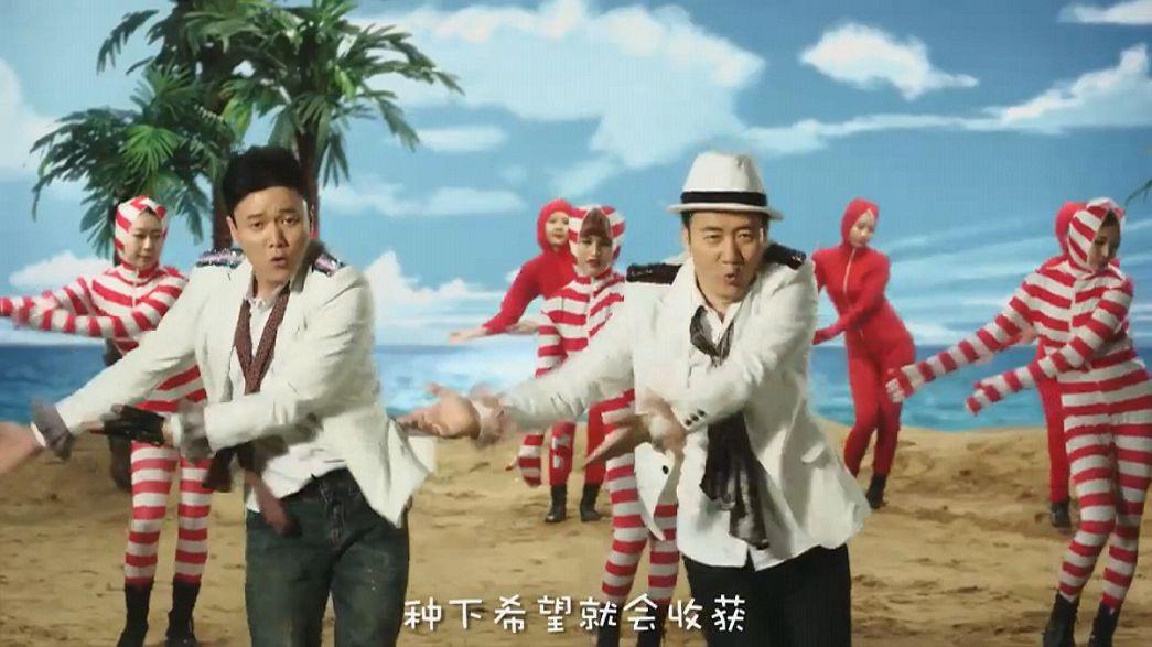 أغاني بوب صينية تكتسب شهرة كبيرة على الشبكة