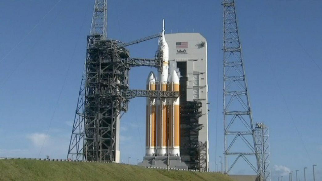 NASA adia lançamento da cápsula Orion por 24 horas