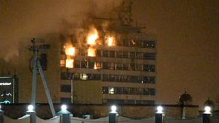 Grozny'de kanlı çatışma
