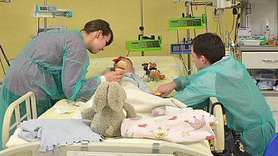 Polonia: un niño se recupera tras sufrir una hipotermia de récord