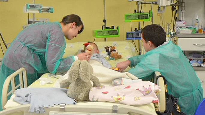 Polish 'miracle' toddler survives freezing ordeal