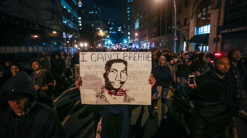 Stati Uniti in marcia per Garner e contro l'impunità della polizia