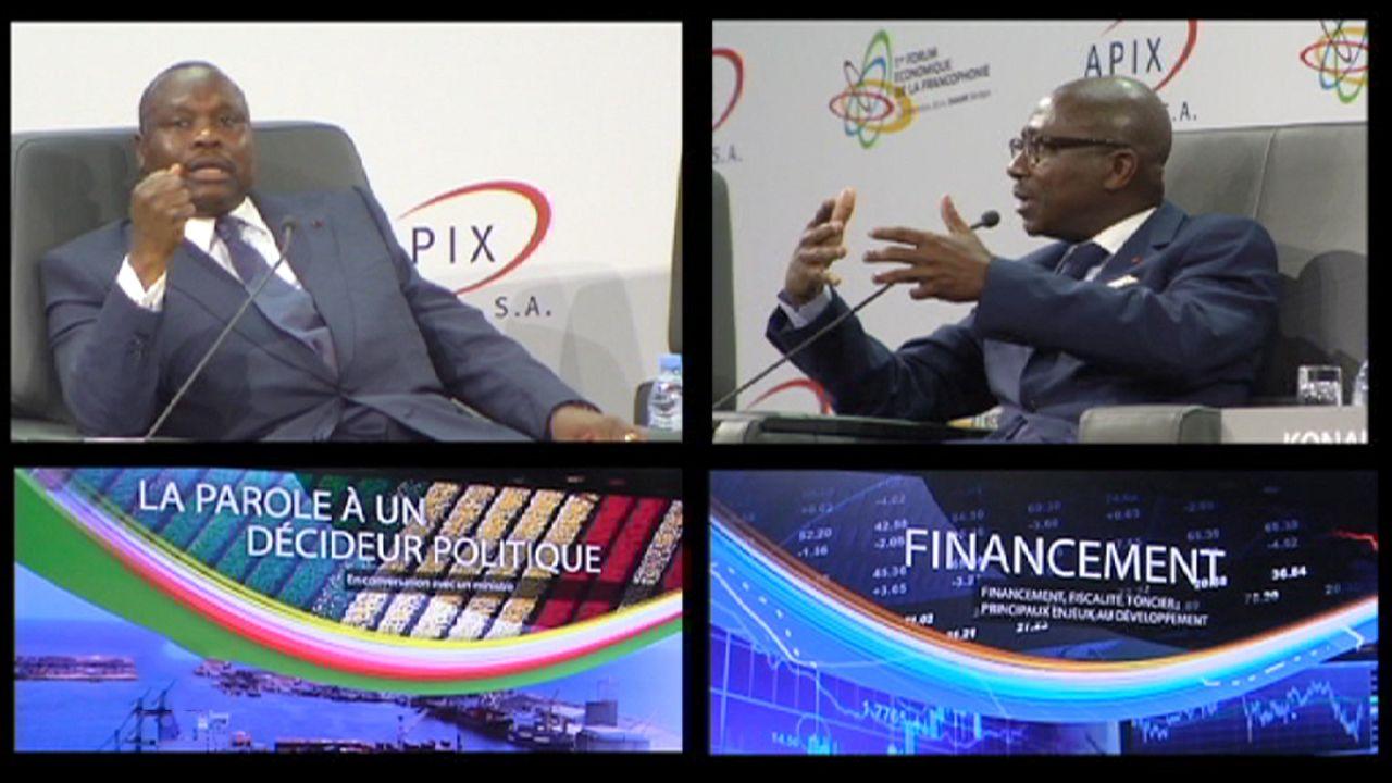 Die Jugend Afrikas fordert wirtschaftlichen Aufschwung