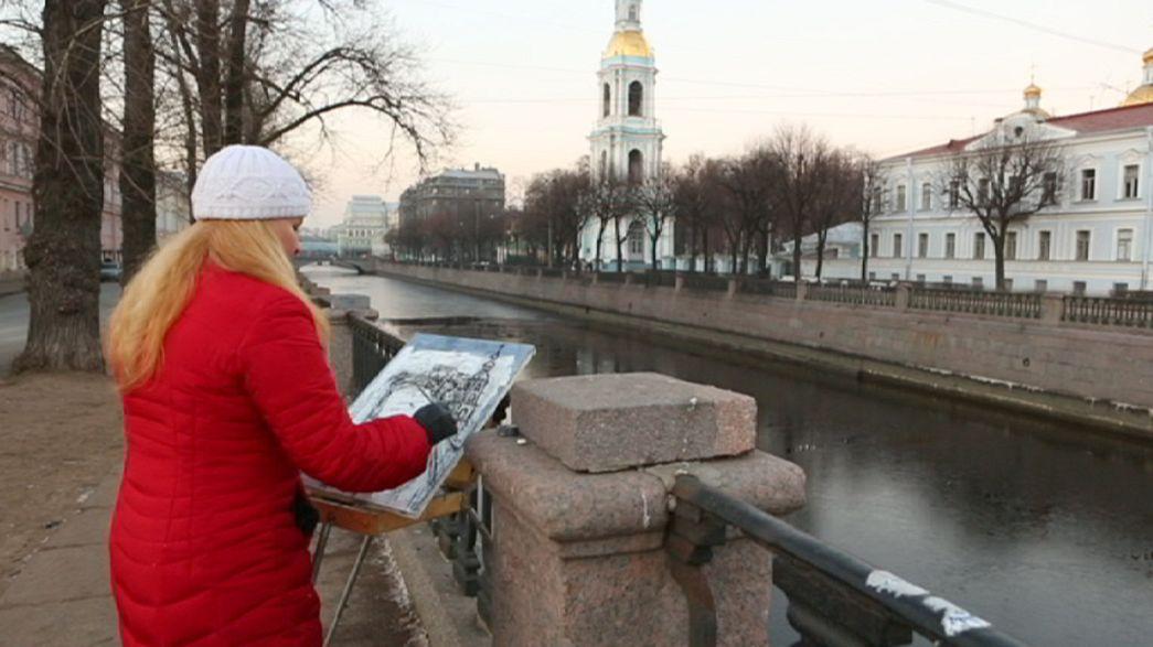 Das junge Sankt Petersburg von Varya Kozhevnikova