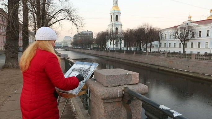 Rus gençliğinin romantik başkenti : St. Petersburg