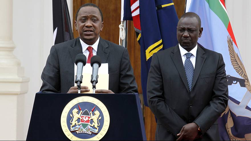 """Kenyan president Kenyatta """"excited"""" to hear crimes against humanity charges dropped"""