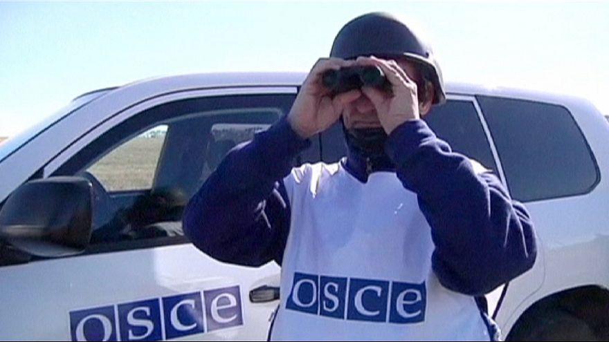 محدودیت های ناظران سازمان امنیت و همکاری در شرق اوکراین