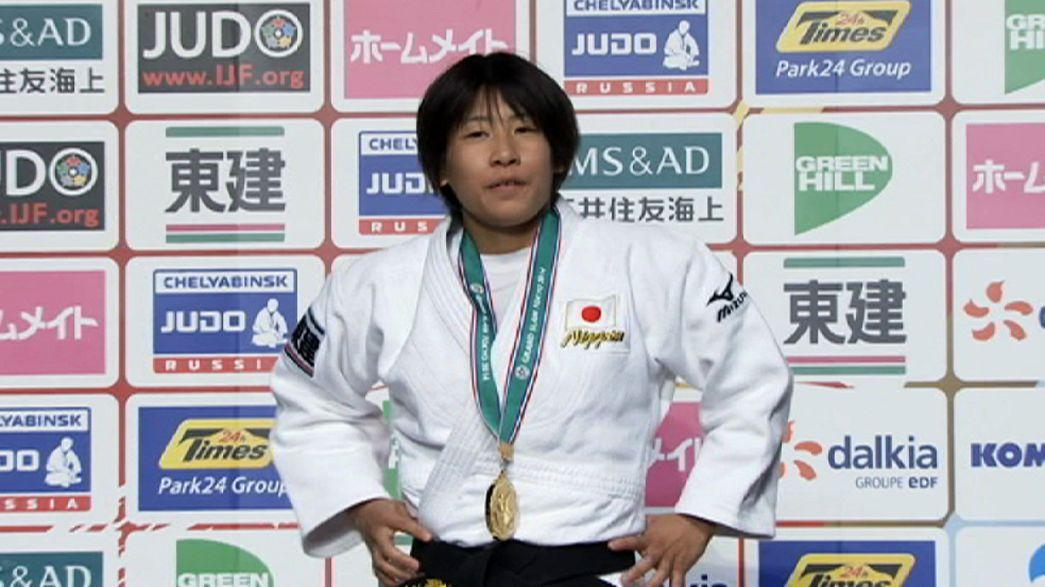 Los judocas japoneses triunfan en la primera jornada del Grand Slam de Tokio