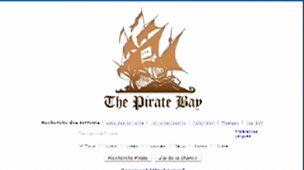 La justicia francesa ordena el bloqueo del sitio de descargas ilegales The Pirate Bay