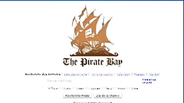 Во Франции блокируют доступ к The Pirate Bay