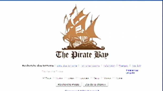 France moves to block access to file-sharing site The Pirate Bay