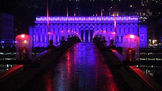 Sıcak bir kış masalı tadında  'Lyon Işık Festivali'