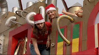 Будапешт: Санта-Клаус приходит к бедным