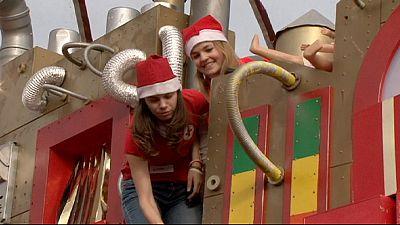 En Hungría Santa Claus llega el 6 de diciembre para los más necesitados