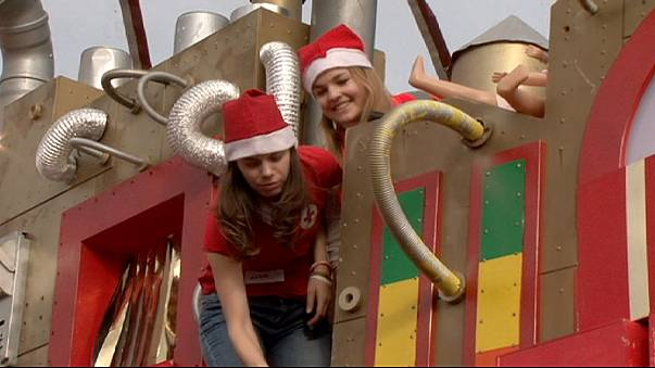 Hungary's Santa Factory to bring gifts to 300,000 children in need