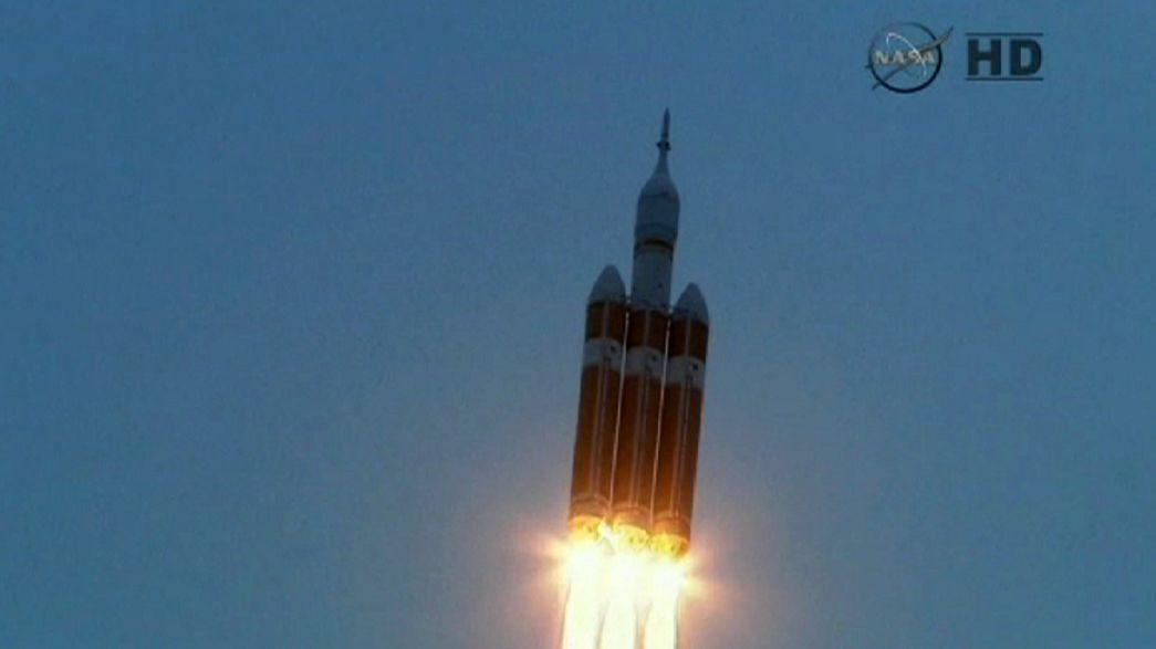 Orion yeryüzüne geri döndü
