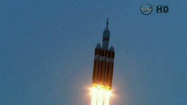 Orions glückliche Landung